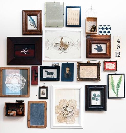 galery wall, laminas, decoracion de paredes, decorar paredes, cuadros, comoposicion con laminas