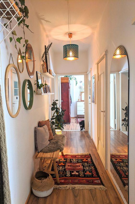 pasillo, pasillos, decorar pasillos, ideas para decorar pasillos, decoración de pasillos